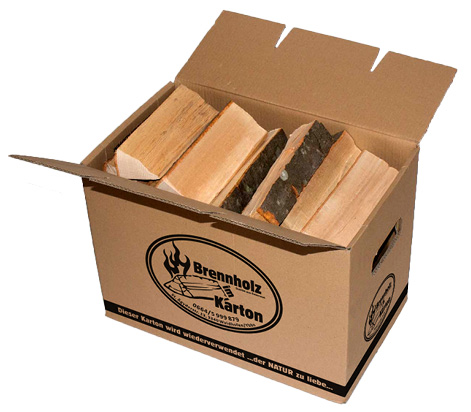 brennholz im karton johannes kromoser. Black Bedroom Furniture Sets. Home Design Ideas